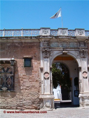 Sevilla Seville Spain Casa De Pilatos Portada En Marmol