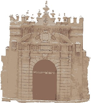 Puerta carmona de sevilla puertas hist ricas de sevilla for Puerta de sevilla carmona